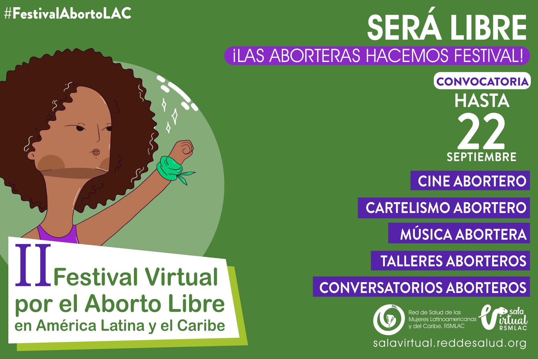 Actividades día global festival virtual por el aborto